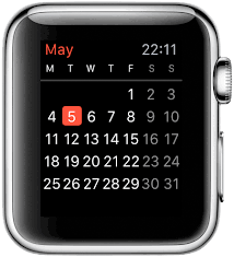 Agenda Apple Watch