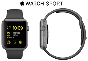 Apple Watch Sport Black  Brisk ICT