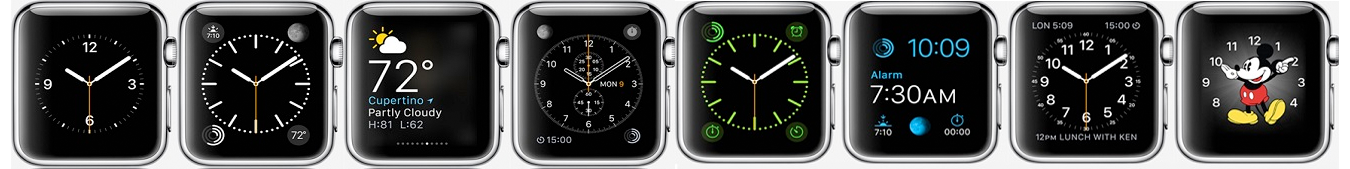 Faces Apple Watch