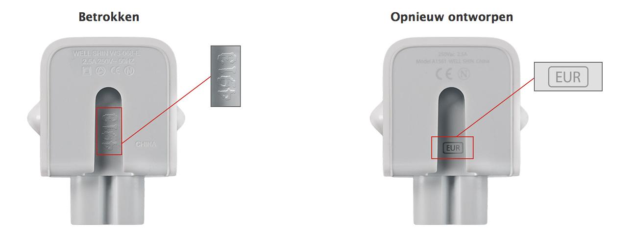 Brisk ICT Groningen betrokken adapters Apple